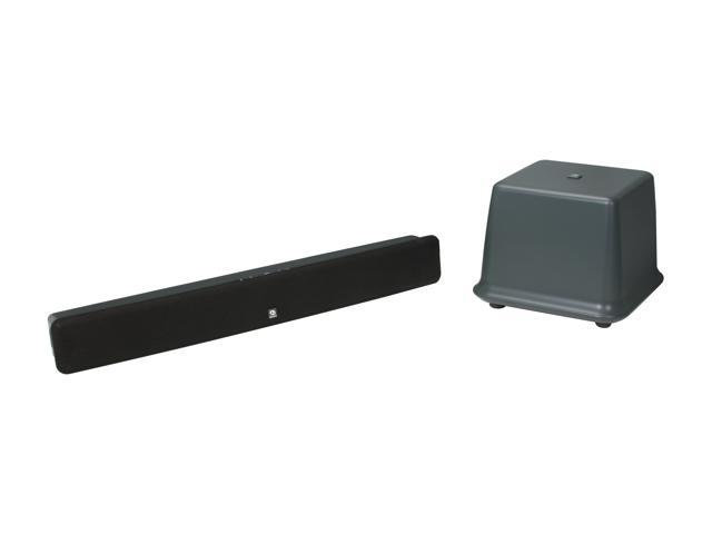 Boston Acoustics TVee 2 CH Black Home Theater System w/ wireless subwoofer System