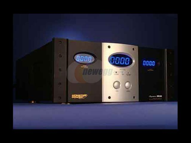 MONSTER 125172 Stereo Home Theater Music Reference Power Amplifier