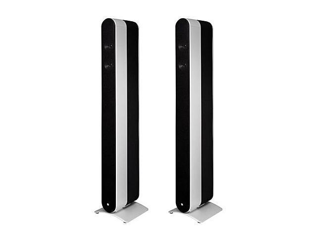 KEF Fivetwo Series MODEL11SL Floor Standing Home Theater Speakers (Silver) Pair