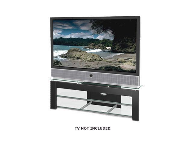 tech craft ptv583b black tv stand. Black Bedroom Furniture Sets. Home Design Ideas