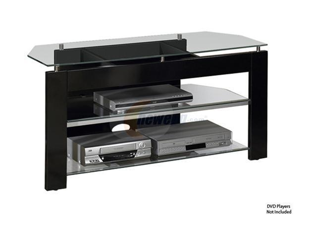 Tech craft ptv483b black tv stand for Tech craft tv stands