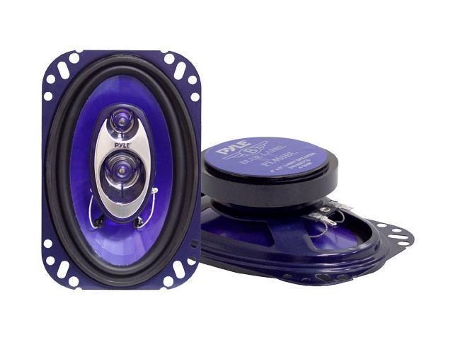"PYLE 4"" x 6"" 240 Watts Peak Power 3-Way Speaker"