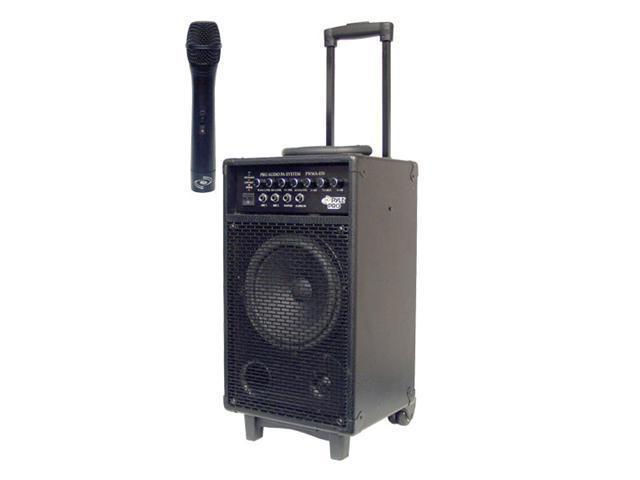 PYLE PWMA850 300W VHF Wireless Battery Powered PA System