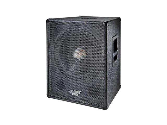 "PYLE PASW-15 800 Watt 15"" Stage Subwoofer Cabinet Single"