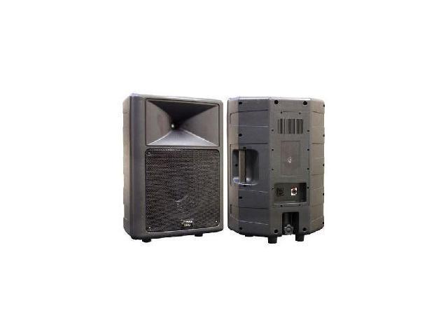 """PYLE PPHP-1259 500 Watt 12"""" Two-Way Plastic Molded Speaker Cabinet Single"""