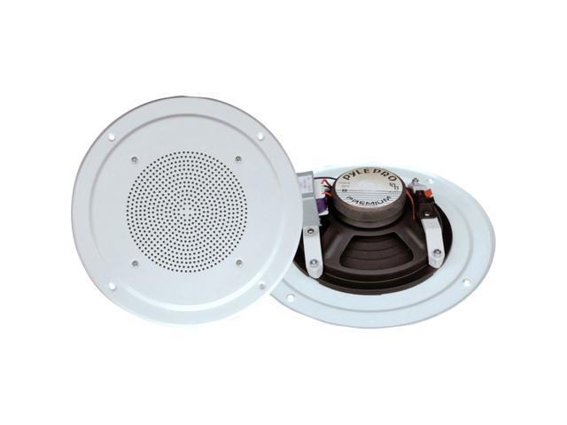 PyleHome PDICS54 Speaker - 2-way - White