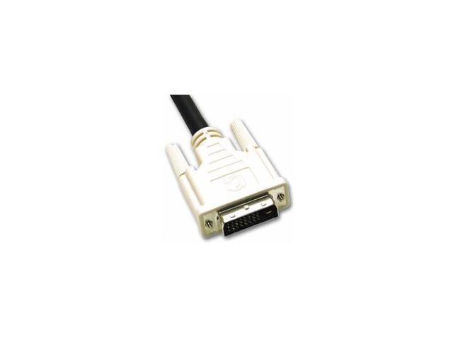 C2G 26942 Black 9.8 ft. M-M DVI-D M/M DUAL LINK DIGITAL VIDEO CABLE