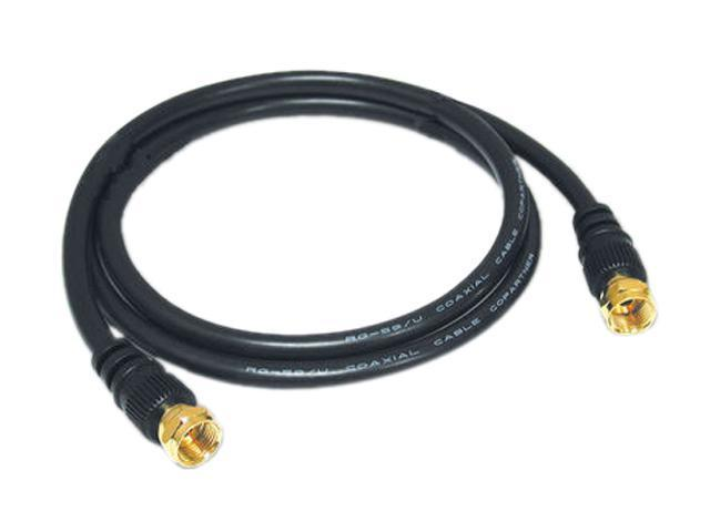 C2G 27031 12 ft. Value Series F-Type RG59 Composite Audio/Video Cable M-M