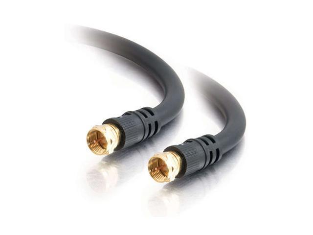 C2G 29133 12 ft. Value Series F-Type RG6 Coaxial Video Cable M-M