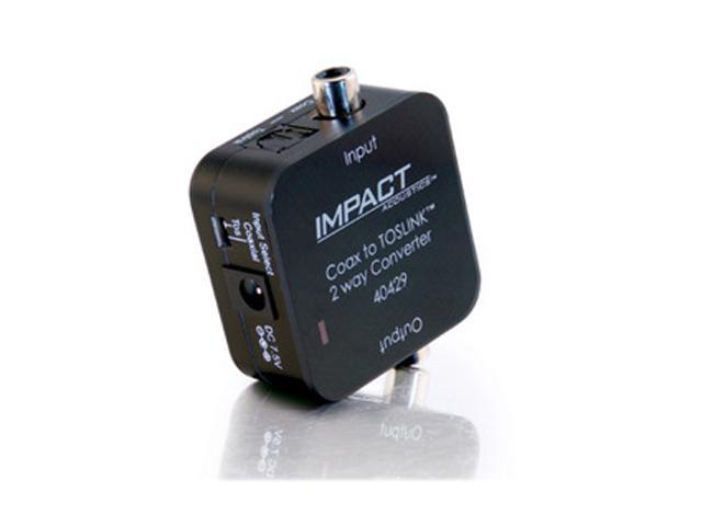 C2G 40429 Dual Output Digital Audio Adapter