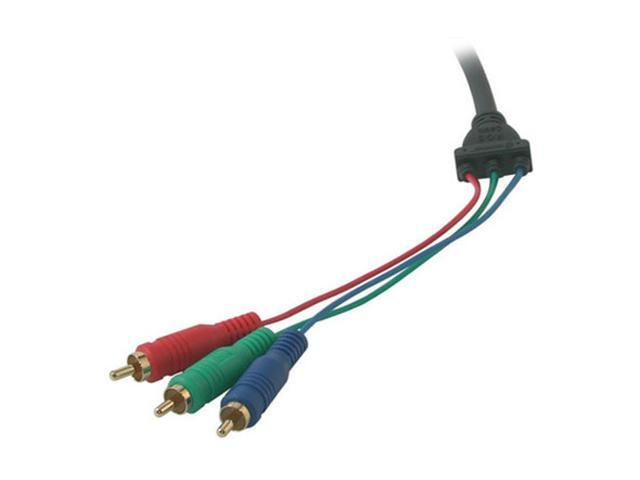 Cables To Go 29641 6 ft. Ultima HD15 Male to RCA HDTV Component Video Breakout Cable