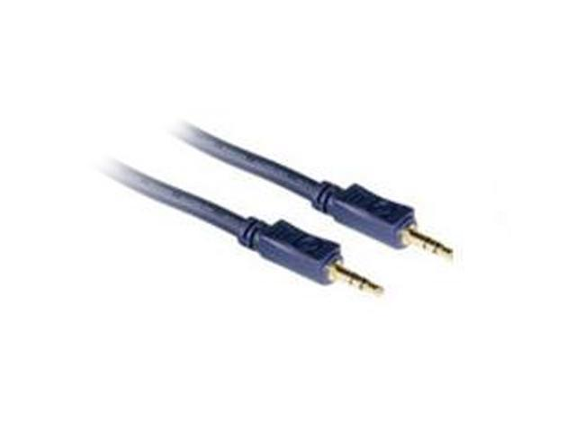 Cables To Go 40601 3 ft Velocity 3.5mm Stereo Audio Cable M-M