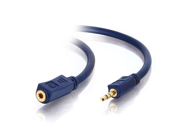 C2G 40608 6 ft Velocity 3.5mm Stereo Audio Extension Cable M-F