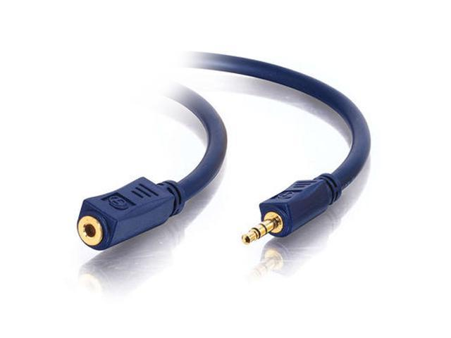 Cables To Go 40611 50 ft Velocity 3.5mm Stereo Audio Extension Cable M-F