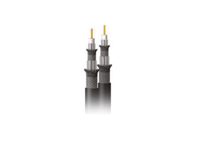 C2G 43068 1000 ft Dual RG6/U Quad Shield In-Wall Coaxial Cable