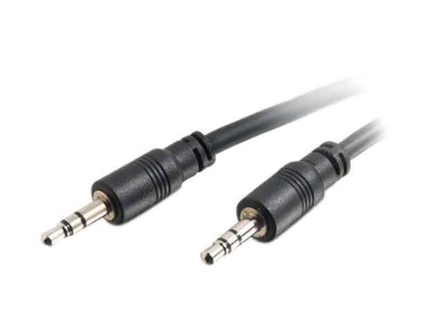 Cables To Go 40108 35 ft. CMG-Rated 3.5mm Stereo Audio Cable With Low Profile Connectors
