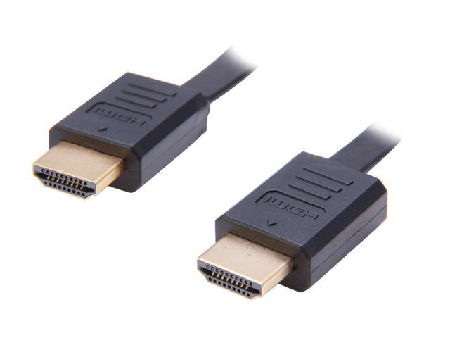 StarTech HDAARET4 4 ft. Black Connector A: 1 - HDMI® (19 pin) Male  Connector B: 1 - HDMI® (19 pin) Male Retractable High Speed HDMI® Cable with Ethernet M-M