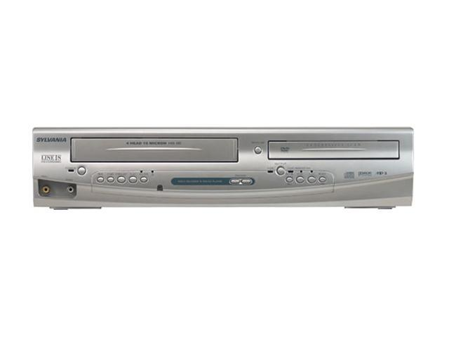SYLVANIA DV220SL8 Dual Player (DVD+VCR) (Line-in Recording)
