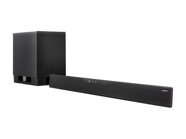 Affinity SB2160 5.1 CH TV Sound Bar w/ wireless Subwoofer
