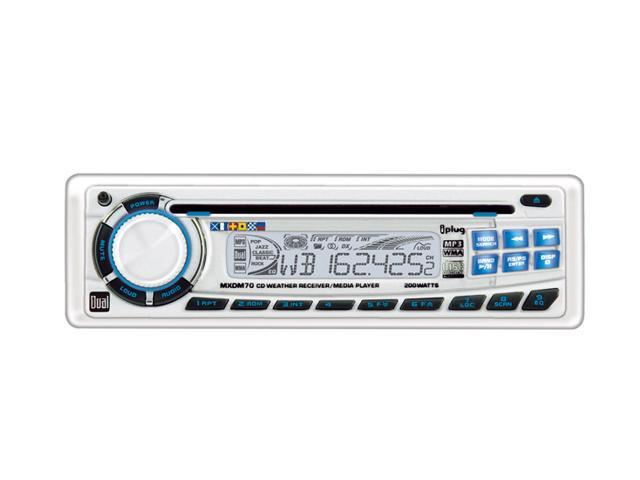 Dual 200W Marine CD/Weatherband Receiver