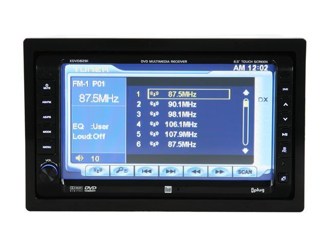 """Dual In-Dash Mobile Video with 7"""" Touch Screen LCD"""