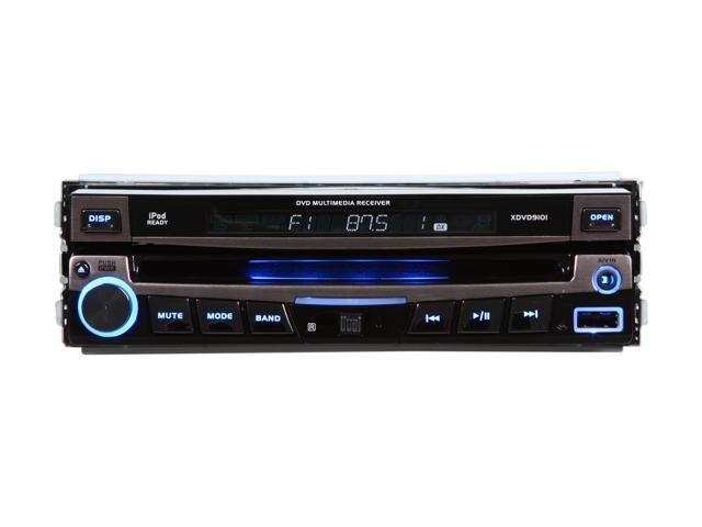 "Dual In-Dash DVD Receiver W/ 7"" Touch Screen"