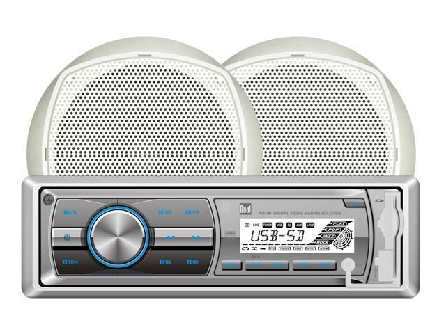 "Dual Maine Digital Media Receiver w/ 6.5"" Speakers"