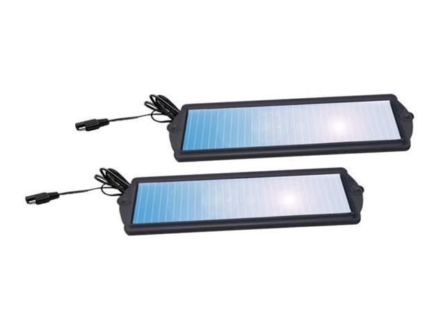 Sunforce 52013 1.8 Watt Solar Battery Maintainer Twin Pack