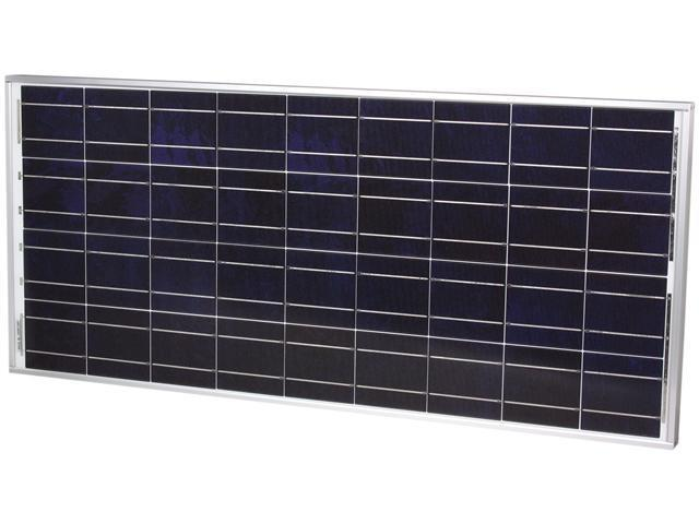 Sunforce 39810 80 Watt Polycrystalline Solar Panel with Sharp Module