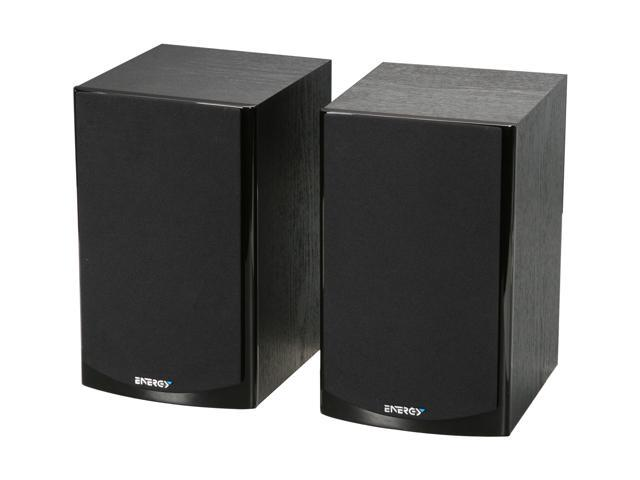 Energy CB-10 Bookshelf Speakers (Pair, Black)