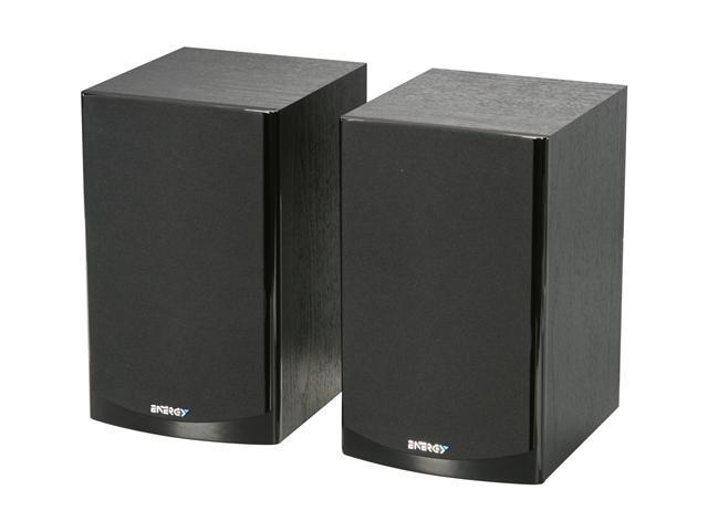 Energy CB-20 Bookshelf Speakers (Pair, Black)