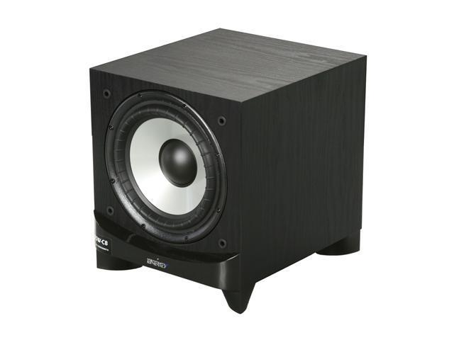 Energy ESW-C8 8-Inch Powered subwoofer - Black ash finish