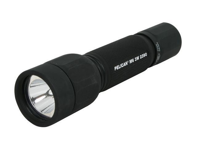 Pelican 2390-000-110 M6 3W 2390 LED Flashlight, Black