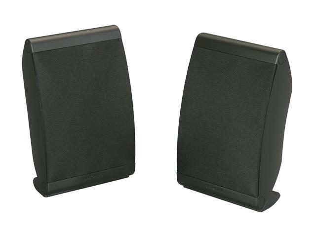 Polk Audio OWM3 Black Multi Application Compact Loudspeaker Pair