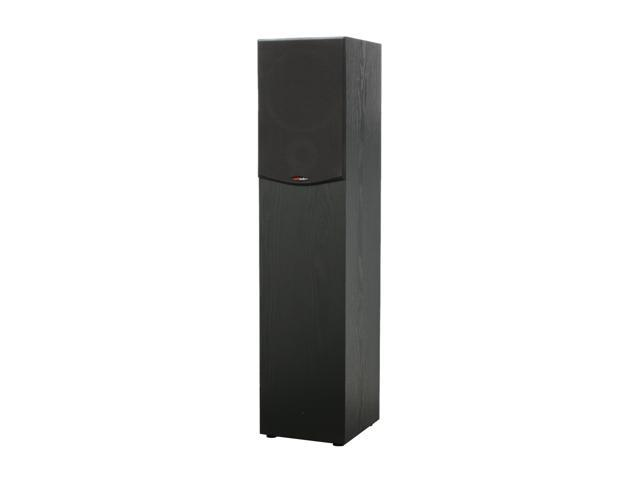 Polk Audio R300 Black Two-Way Floor-Standing Loudspeaker Single