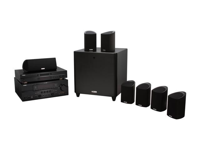 Polk Audio and Yamaha HTS 9610 7.1 CH DVD Home Theater Package