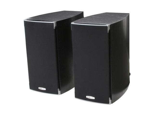 Polk Audio RTI A3-Black High Performance Bookshelf Loudspeaker Pair
