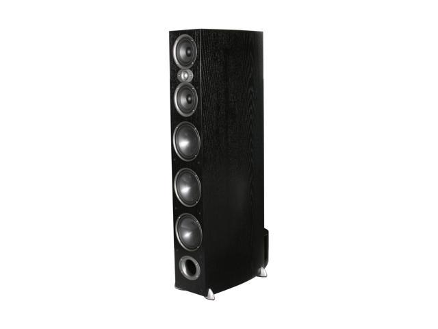 Polk Audio RTi A9 Black High Performance Floorstanding Loudspeakers with three 7-inch bass drivers, two 5.25 inch midrange ...