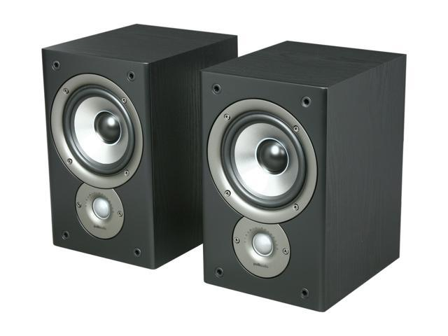 Polk Audio Monitor30 Series II Two-Way Bookshelf Loudspeaker (Black) Pair