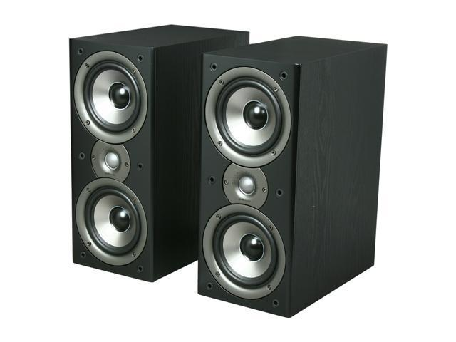 Polk Audio Monitor40 Series II Two-Way Bookshelf Loudspeaker (Black) Pair