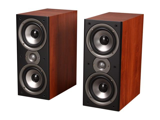 Polk Audio Monitor40 Series II Two-Way Bookshelf Loudspeaker (Cherry) Pair