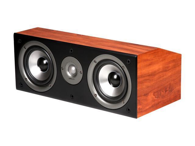 Polk Audio CS1 Series II Center Channel Speaker (Cherry) Single