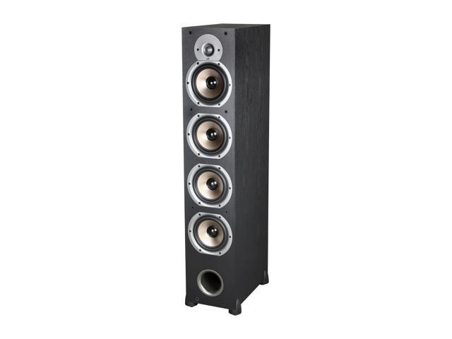Polk Audio Monitor Series New Monitor 75T Four-Way Ported Floorstanding Loudspeaker (Black) Single