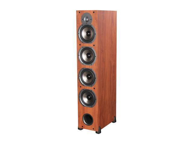 Polk Audio New Monitor 75T Four-Way Ported Floorstanding Loudspeaker (Cherry) Single