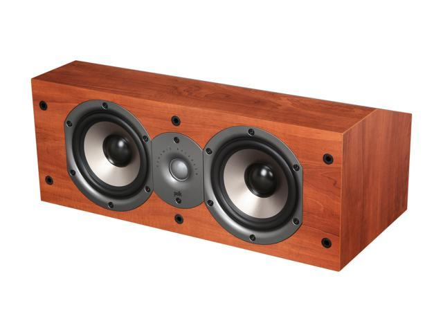 Polk Audio Monitor Series New Monitor 15C Two-Way Center Channel Loudspeaker (Cherry) Single