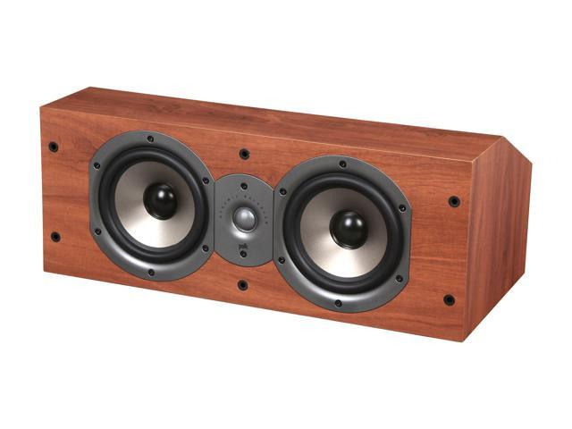 Polk Audio Monitor Series New Monitor 25C Two-Way Center Channel Loudspeaker (Cherry) Single