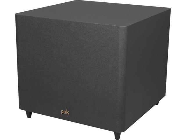 "Polk Audio PSW121 12"" Subwoofer with 100 Watts Dynamic Power (Black) Single"