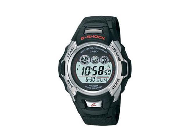 CASIO GW500A-1V Black G-Shock Atomic Solar Watch with resin band