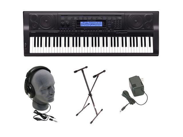 CASIO WK-500 76 Key Piano Style Touch Sensitive Keyboard