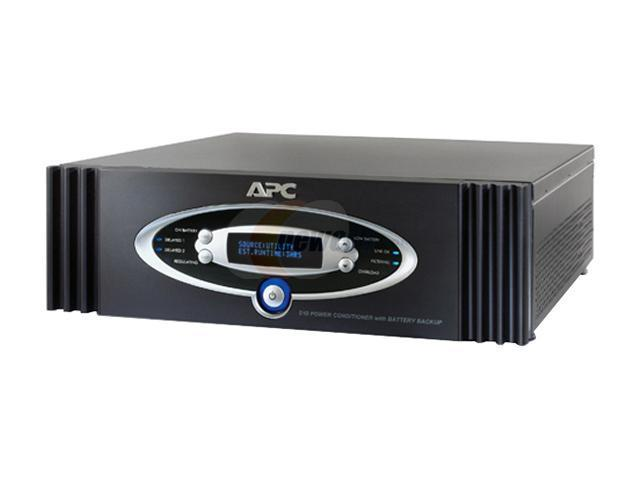 APC S10BLK Power Conditioner with Battery Backup 120V